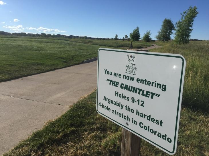 Antler Creek Golf Course Gauntlet