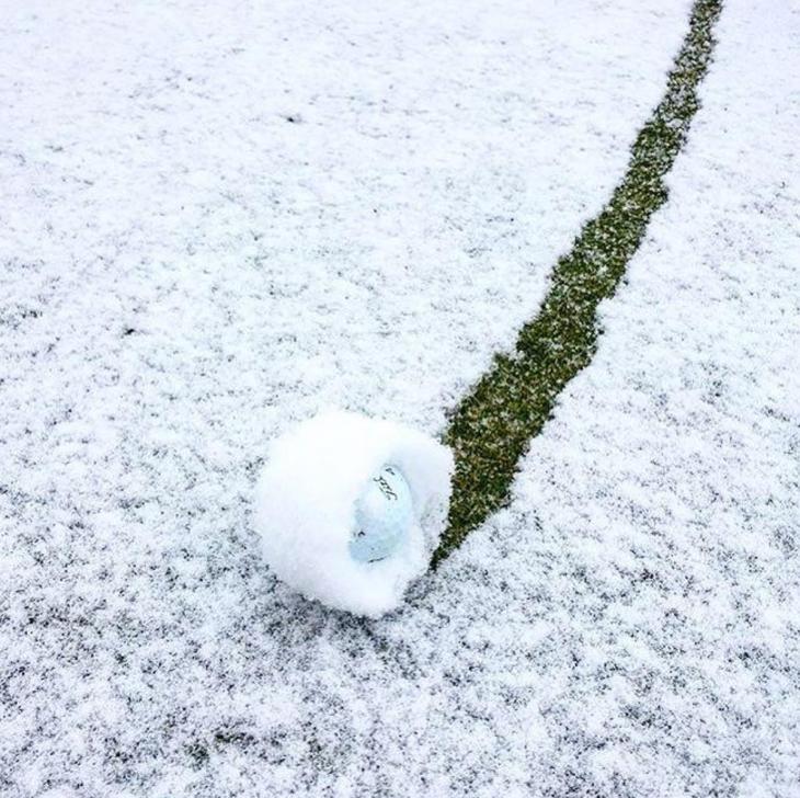 wintergolfball