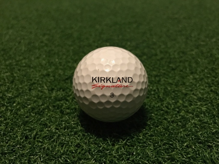 Kirkland golf ball